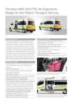 WAS 300 Patient Transport Service PTS Renault Master Panel Van 3.5 T - 2