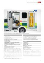 WAS 4x4 All Terrain Ambulance Ford Ranger Box Body 3.5 T - 3