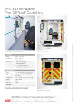 WAS 4x4 All Terrain Ambulance Ford Ranger Box Body 3.5 T - 4