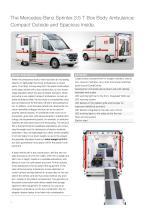 WAS 500 Ambulance Mercedes-Benz Sprinter Box Body 3.5 T - 2