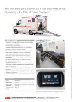 WAS 500 Ambulance Mercedes-Benz Sprinter Box Body 3.5 T - 4