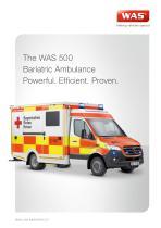 WAS 500 Bariatric Ambulance Mercedes-Benz Sprinter Box Body 5 T - 1