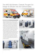 WAS 500 Bariatric Ambulance Mercedes-Benz Sprinter Box Body 5 T - 2