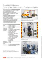 WAS 500 Bariatric Ambulance Mercedes-Benz Sprinter Box Body 5 T - 4