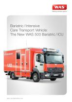WAS 500 Bariatric / Intensive Care Transport Ambulance Mercedes-Benz Atego Box Body 10.5 T - 1