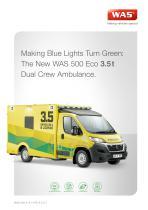 WAS 500 Emergency Ambulance Fiat Ducato Box Body A+E Type B 3.5 T - 1