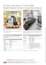 WAS 500 Emergency Ambulance Fiat Ducato Box Body A+E Type B 3.5 T - 4