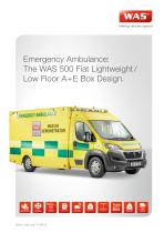 WAS 500 Emergency Ambulance Fiat Ducato Box Body Type B / Light A+E 4.25 T - 1