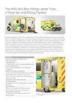 WAS 500 Emergency Ambulance Fiat Ducato Box Body Type B / Light A+E 4.25 T - 2