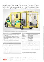 WAS 500 Emergency Ambulance Fiat Ducato Box Body Type B / Light A+E 4.25 T - 8