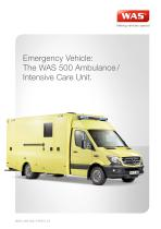 WAS 500 EMERGENCY AMBULANCE/INTENSIVE CARE - 1