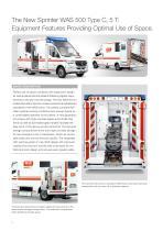WAS 500 Emergency Ambulance Mercedes-Benz Sprinter Box Body 5 T - 2