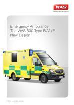 WAS 500 Emergency Ambulance Mercedes-Benz Sprinter Box Body Type B / A+E 5 T - 1
