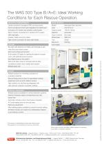 WAS 500 Emergency Ambulance Mercedes Benz-Sprinter Box Body Type B / A+E SAS 5 T - 4