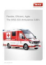 WAS 500 Emergency Ambulance Mercedes-Benz Sprinter Box Body Type C 3.88 T - 1