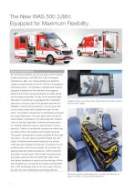 WAS 500 Emergency Ambulance Mercedes-Benz Sprinter Box Body Type C 3.88 T - 2