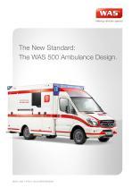 WAS 500 Emergency Ambulance Mercedes-Benz Sprinter Box Body Type C 5 T - 1