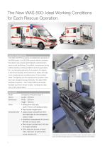 WAS 500 Emergency Ambulance Mercedes-Benz Sprinter Box Body Type C 5 T - 2