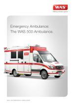 WAS 500 Emergency Ambulance Mercedes-Benz Sprinter Box Body Type III 5 T - 1