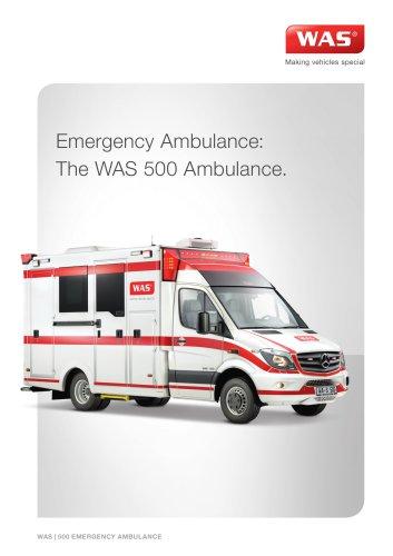 WAS 500 Emergency Ambulance Mercedes-Benz Sprinter Box Body Type III 5 T