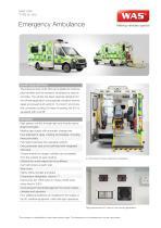 WAS 500 Emergency Ambulance Mercedes-Benz Sprinter Box Body Type III / ICU 5 T - 1