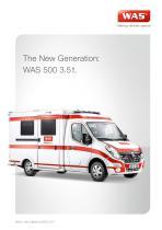 WAS 500 Emergency Ambulance Renault Master Box Body 3.5 T - 1