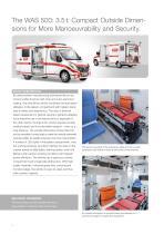 WAS 500 Emergency Ambulance Renault Master Box Body 3.5 T - 2