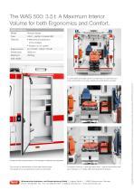 WAS 500 Emergency Ambulance Renault Master Box Body 3.5 T - 4
