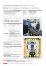 WAS 500 Emergency Ambulance Volkswagen Crafter Box Body 4.3 T - 4