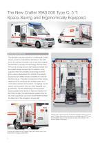 WAS 500 Emergency Ambulance Volkswagen Crafter Box Body 5 T - 2