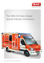 WAS 500 Special Infection Ambulance Mercedes-Benz Sprinter Box Body 5 T - 1