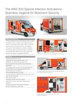 WAS 500 Special Infection Ambulance Mercedes-Benz Sprinter Box Body 5 T - 2