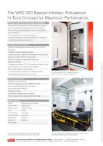 WAS 500 Special Infection Ambulance Mercedes-Benz Sprinter Box Body 5 T - 4