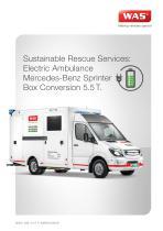 WAS 500 Zero Emission Ambulance Mercedes-Benz Sprinter Box Body 5.5 T - 1