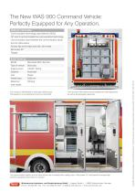 WAS 900 Disaster Relief Vehicle Command Vehicle Mercedes-Benz Sprinter Box Body 5 T - 4