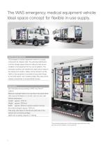 WAS 900 Disaster Relief Vehicle Emergency Medical Equipment Vehicle MAN TGL Box Body 10 T - 2