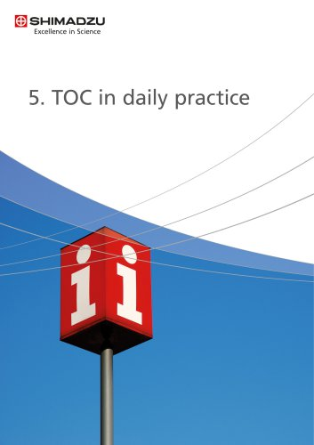 5. TOC in daily practice
