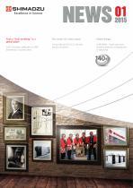 New issue Shimadzu News 1/2015