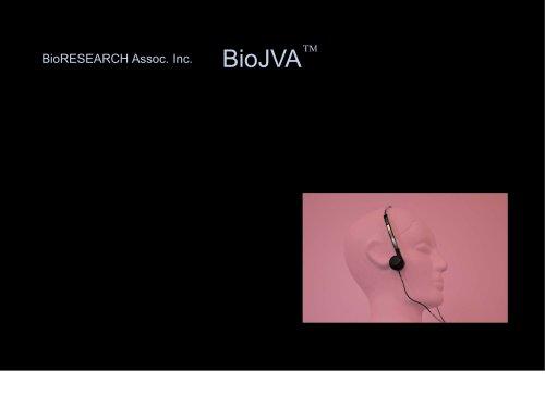 BioJVA Brochure