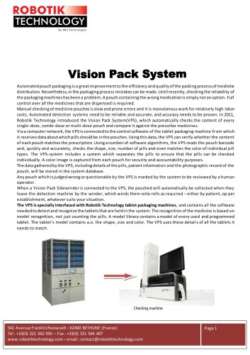 Vision Pack System