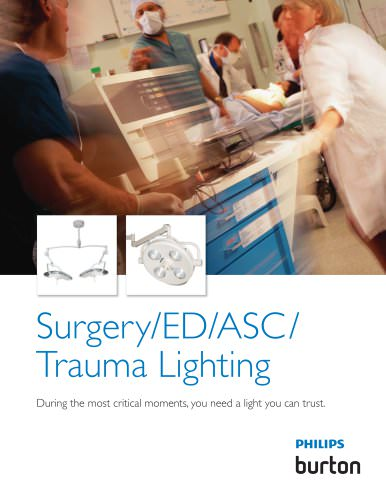 Surgery/ED/ASC/ Trauma Lighting