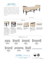 Antillo Bench - No Back - 2