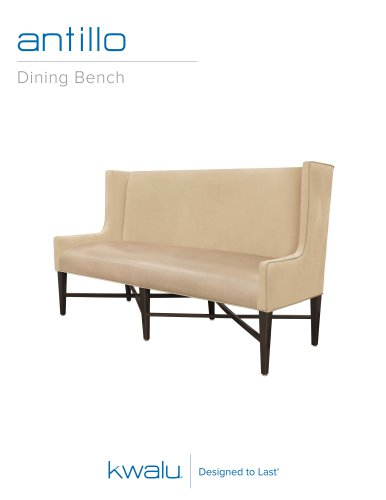 Antillo Dining Bench