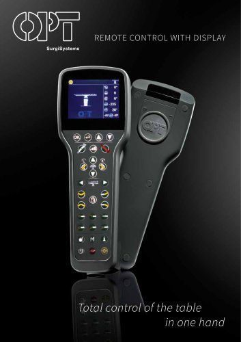 REMOTE CONTROL WITH DISPLAY