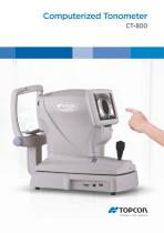 CT-800, Non-contact Tonometer