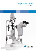 NEW Digital Slit Lamp SL-D701 DC-4 First Choice for Professionals - 1