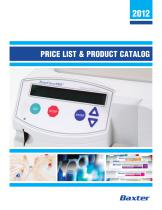 PRICE LIST & PRODUCT CATALOG - 1