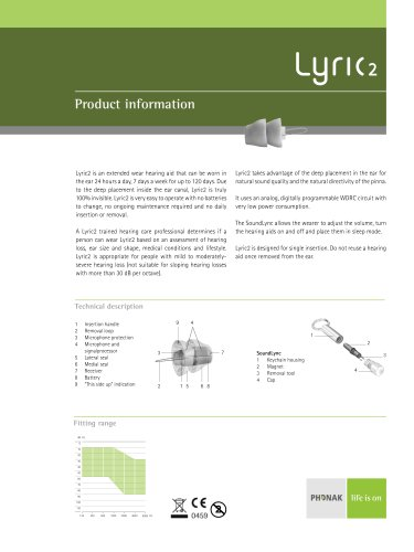 Product Information Lyric2