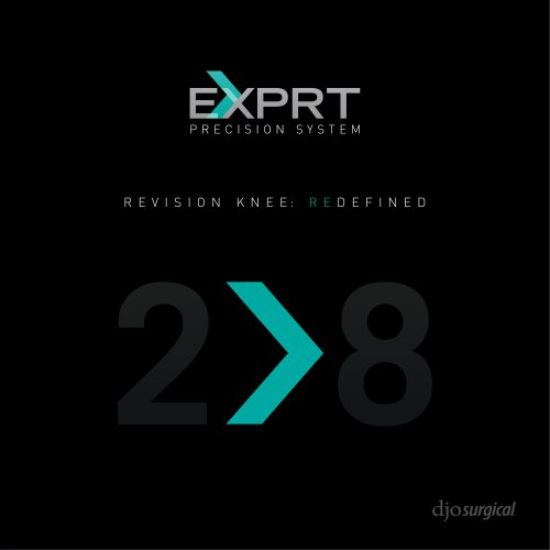 Exprt™ Precision System djosurgical