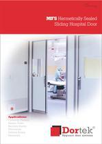 MF5 - Hermetically Sealed Sliding Hospital Door